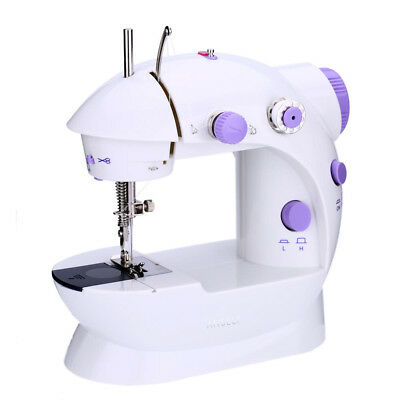 Mini Household Electric Sewing Machine 2 Speed Adjustment Light Foot Pedal