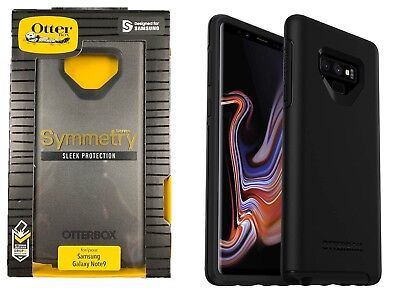 Otterbox Symmetry Series Case Sleek Cover for Samsung Galaxy Note 9 Black