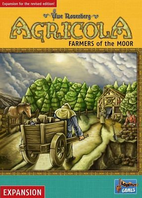 Agricola Board Game - Farmers of the Moor Expansion - Revised Edition