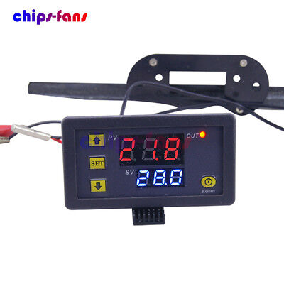 W3230 LCD 12V 20A Digital Thermostat Temperature Controller Meter Regulator CF