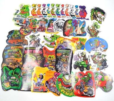 Rat Fink Vinyl Decal Hot Rod  Ed Roth Classic 39 Styles Big Daddy Car Stickers
