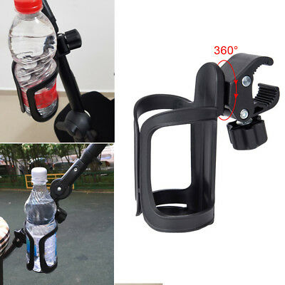 Stroller Bottle Rack Pushchair Accessories Bicycle Cup Holder Outdoor Organizer