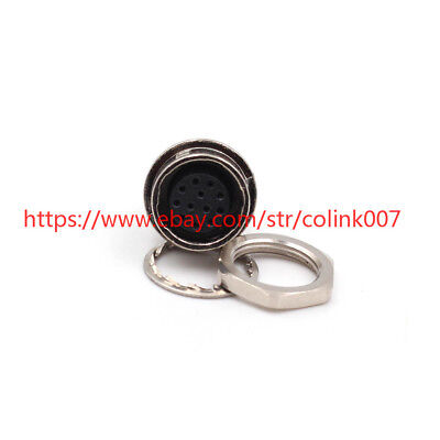 for Hirose 12 Pin Connector Plug HR10A-01P-12S Connector Socket in hole
