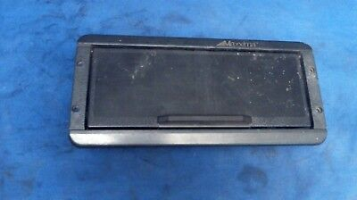 Used Maxxima Smoke Tinted Black Marine Radio/Stereo in Dash Cover