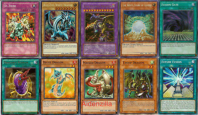 YUGIOH FIVE-HEADED DRAGON Deck - Blue-Eyes White Dragon