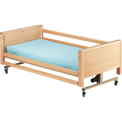 Brand New Milano Wood Bed Rails Hospital/ Agedcare / Home Aims Medical Supplies