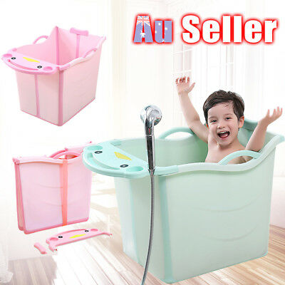 Kids Water Chest Foldable Baby Toddlers Large Thickening Bubble Bathtub