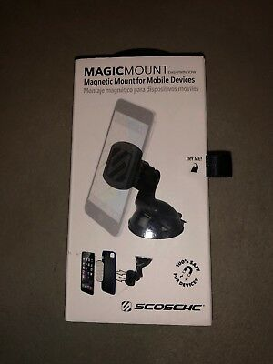 Scosche Magicmount Magnetic Mount For Mobile Devices Model#magwsm-Xtsp1