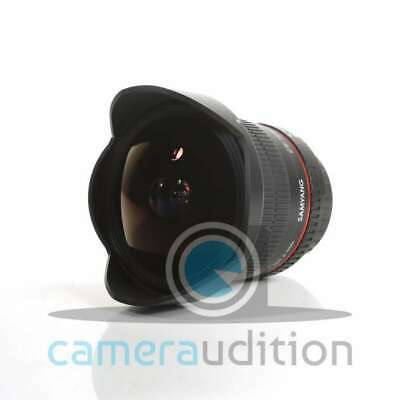 Genuino Samyang 12mm f/2.8 ED AS IF NCS UMC Fisheye Lens for Canon EF Mount