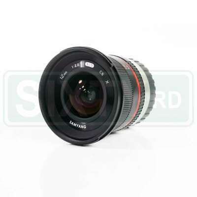 Genuino Samyang 12mm f/2.0 NCS CS Lens for Fujifilm X Mount (Black)