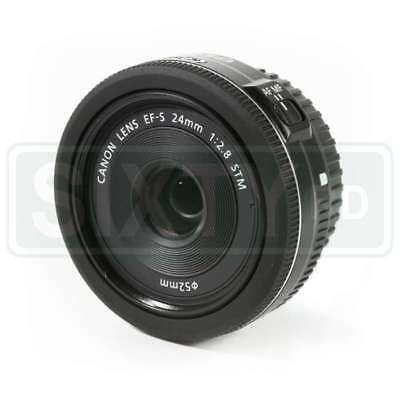 Genuino Canon EF-S 24mm f/2.8 STM Lens