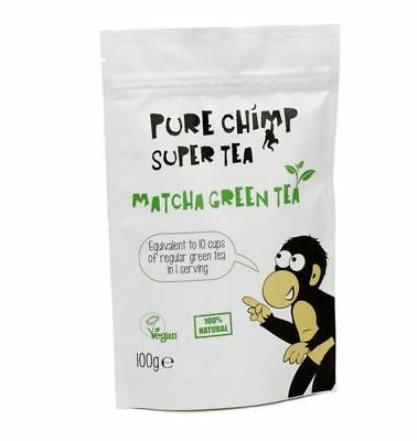 Purechimp Regular Matcha Pouch 100g