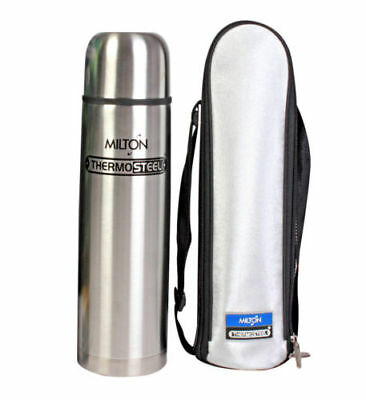 MILTON Thermo steel - 1000 ML Flask HOT AND COLD WITH FLIP LID free shipping