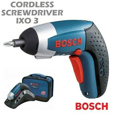 Bosch IXO III 3.6V Professional Cordless Electric Screwdriver Lithium-ion LED AU