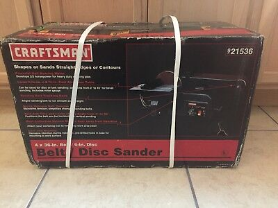 Craftsman 4x36-in. Belt/Disc Sander 21536