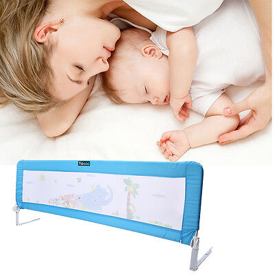 180cm Child Toddler Safety Bed Rail Baby Bedrail Fold Cot Guard Protection  a u
