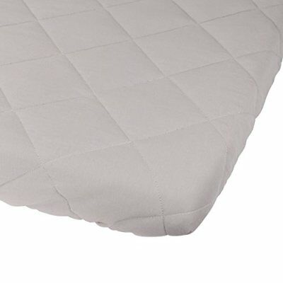 Waterproof Cotton Quilted Pack n Play Sheet | Mini Crib Sheet | All in one Pad &