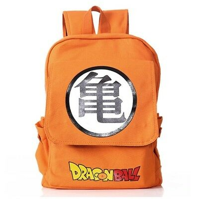 Anime Dragon Ball Backpack Boys Girls Super Saiyan Sun Goku Cosplay Prop Gift