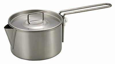 Captain Stagg CAPTAIN STAG made barbecue for pan titanium kettle cooker 900ml M-
