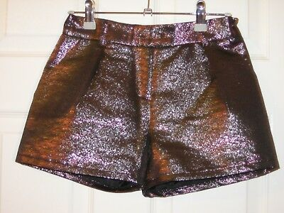 Next Girls Pink Party Shorts Size 12yrs