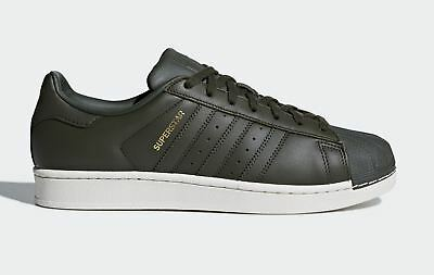 adidas Superstar CM8074~Mens Trainers~Originals~Green Red~MOST SIZES