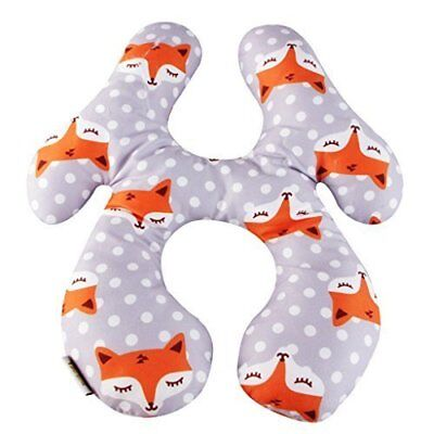 KAKIBLIN Baby Travel Pillow, Baby Head and Neck Support Pillow for 6M -2Y