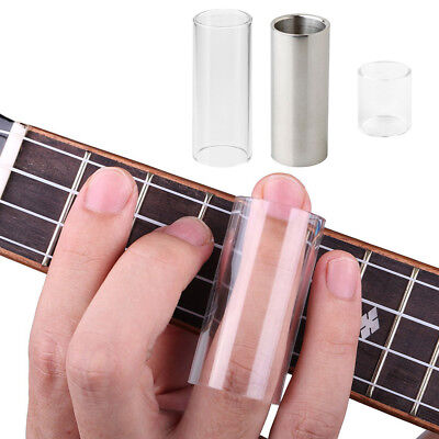 Glass Guitar Bass Tone Bar Stainless Steel Slide Tone Bar for Musical Lovers