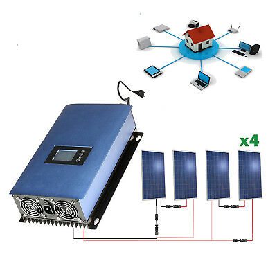 Kit Solar inyección a RED 1000Wh Kit autoconsumo
