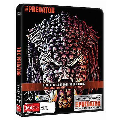 Predator, The (Steelbook) (4K Ultra HD/ Blu-Ray) (2018) (Region B) New Release