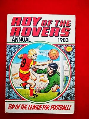 Roy Of The Rovers Annual 1983 Football Soccer Nostalgia Book