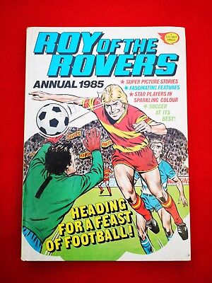 Roy of the Rovers Annual 1985 Vintage Football Soccer Nostalgia