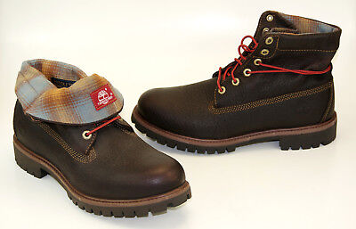 131bfa01a402 Timberland Af Roll Top Pendleton Boots Lace up Men s Winter Boots A11S5