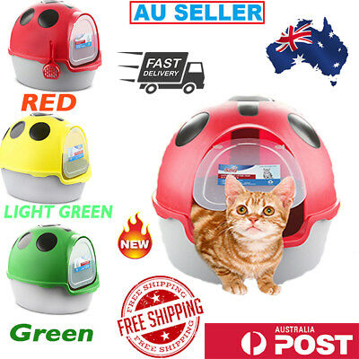 New Latest Cat Litter Box Portable Pet Toilet House Hooded With Handle Carrier
