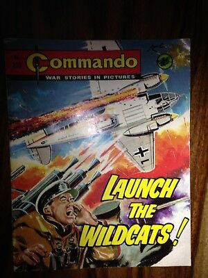 1968 Commando comic number : 332 Launch the Wildcats