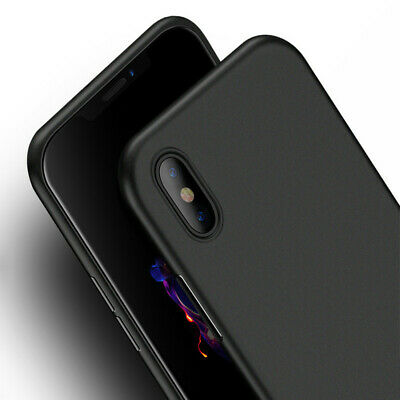 Cover Custodia Per iPhone XR XS MAX 7 8 Sottile Case Shockproof Etui Slim Matte