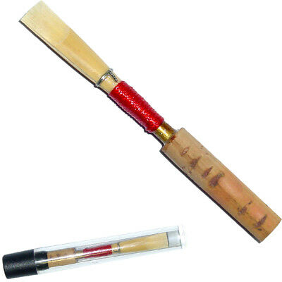 Karl Glaser Rohrblatt Reed Oboenrohr Oboe Medium deutsch Bauart 72mm Drahtzwinge