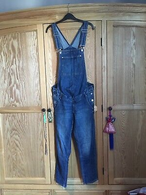 H&M Mama Maternity Dungarees Size 8