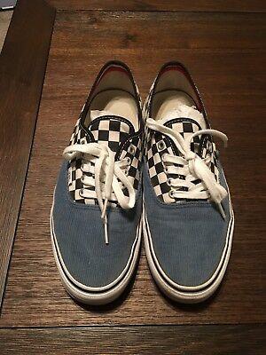 f019ae58c2 SUPREME VANS WHITE castle vans authentics size 10.5 -  120.00