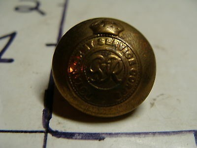 vintage Military: BRITISH  buttons:1 Royal army service button George VI 1936-55