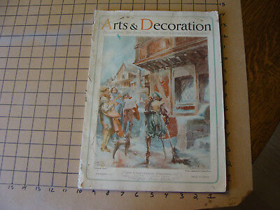 Vintage Original: dec 1926 - ARTS & DECORATION - 116pgs w some wear, complete