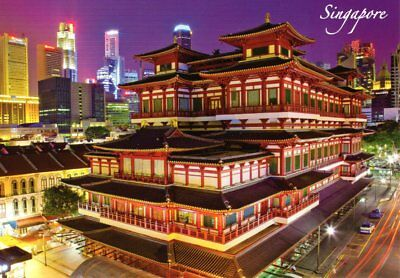 Neue AK SINGAPORE - The Buddha Relic Temple at China Town