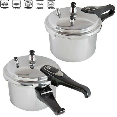 5L Pressure Cooker Aluminium  Kitchen Catering Home Brand New With Spare Gasket