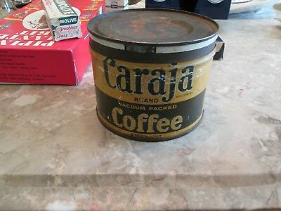 Vintage Caraja Brand Coffee Can
