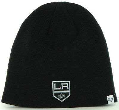 sneakers for cheap 4a12f 8173d 47 Brand LA Los Angeles Kings NHL Beanie Beany Hat One Size Mütze Forty  Seven