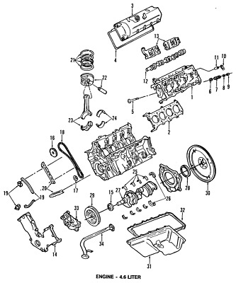 Ford Oem Engine Timing Chain Guide 1r3z6m256aa