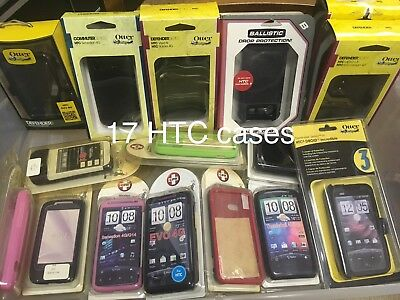 x20 HTC Motorola Case LOT OtterBox Ballistic Incredible 2 Evo Thunderbolt NEW US