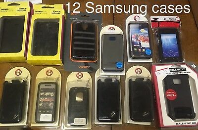x18 Samsung Case Lot Otter Box Ballistic Galaxy S4 S2 Vibrant Instinct New USA
