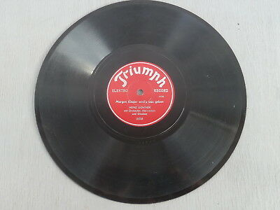HEINZ GÜNTHER - O Tannebaum / Morgen Kinder wirds was geben, 78rpm