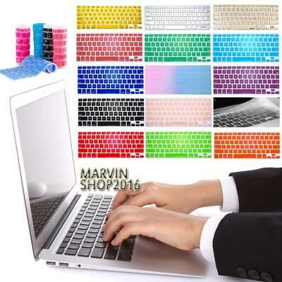 "Silicon Keyboard Protector Cover For 11 12 13"" 15"" Apple MacBook Air/Pro/ retina"