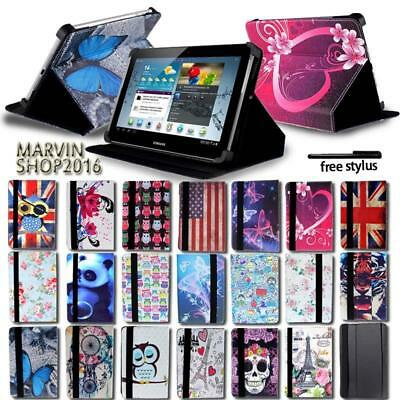 For Various Samsung Galaxy Tab A Tablet - FOLIO LEATHER STAND CASE COVER + pen